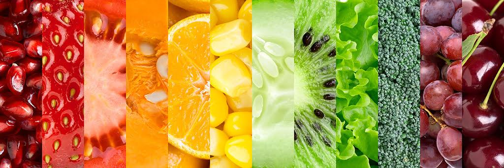 Owoce z witaminami